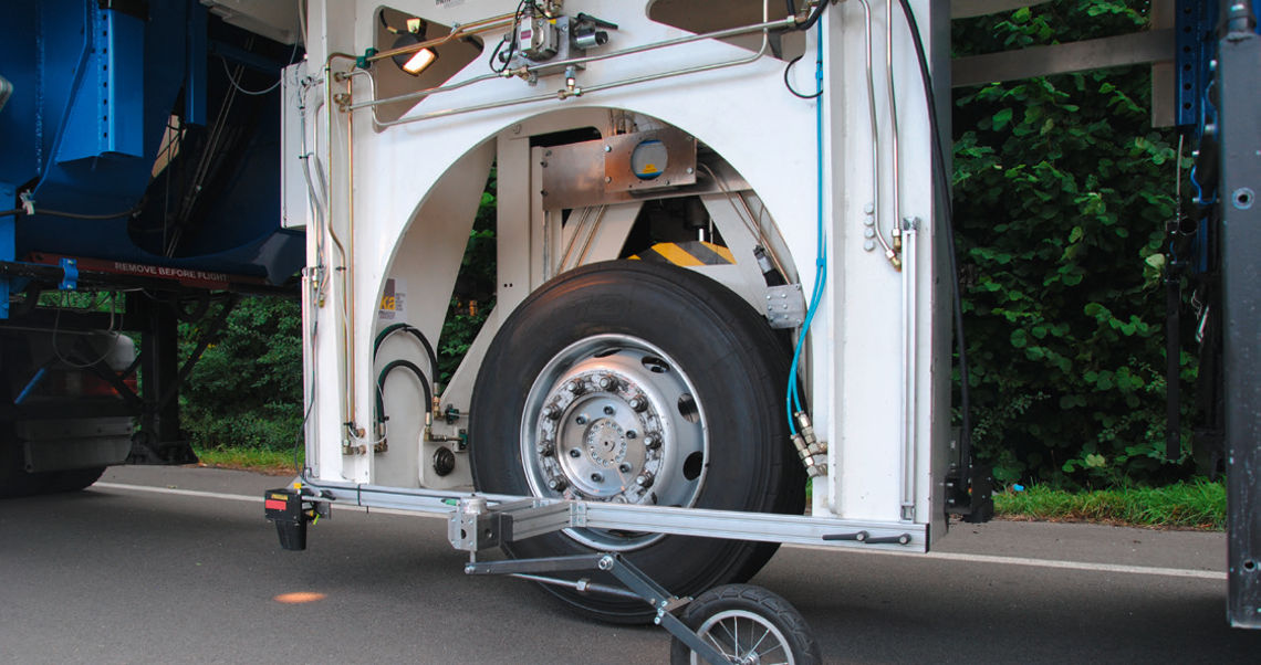 Mobile Tyre Test Trailer