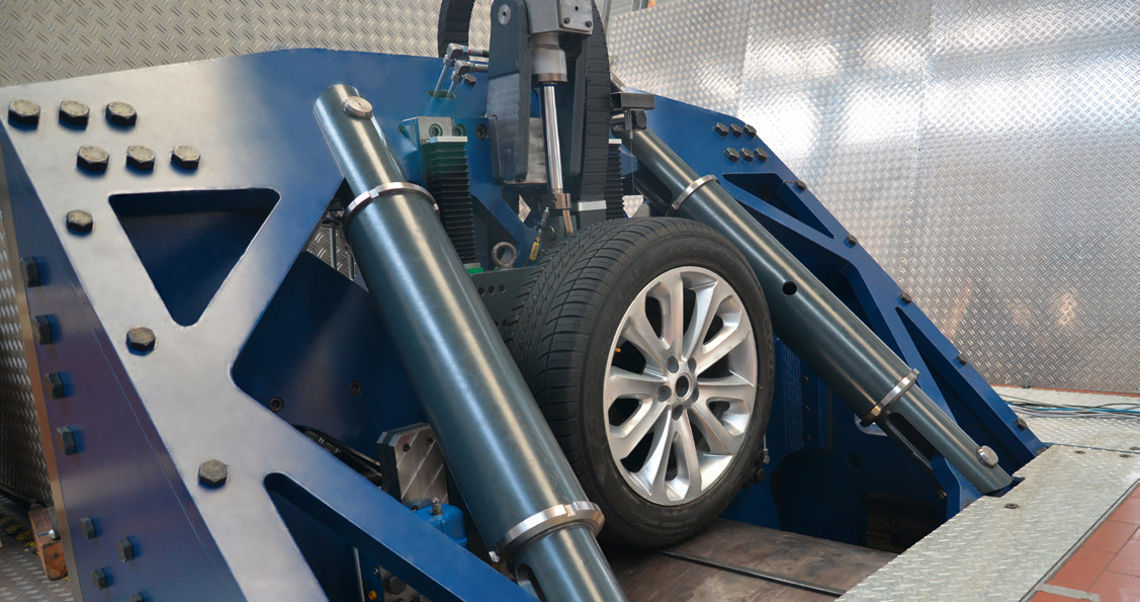 Cleat Tyre Test Rig